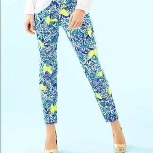 NWT Lilly Pulitzer Kelly Skinny Ankle Pant